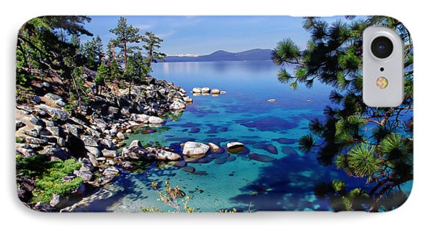 Lake Tahoe Swimming Hole IPhone Case by Scott McGuire