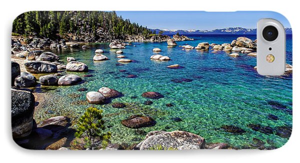 Lake Tahoe Waterscape IPhone Case by Scott McGuire