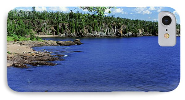 Lake View, Lake Superior, Duluth IPhone Case by Panoramic Images