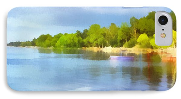 Landscape Of The Balaton Lake Phone Case by Odon Czintos