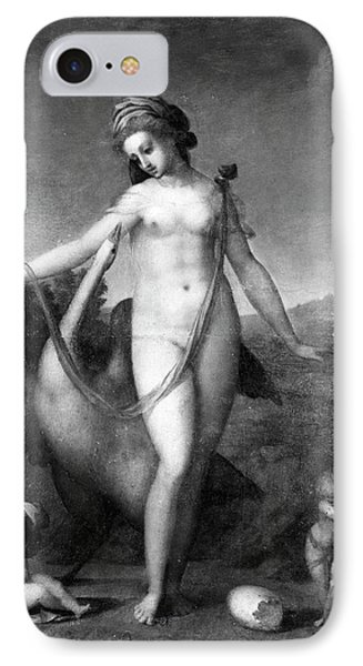 Leda And The Swan IPhone Case by Granger