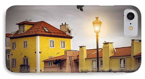 Lisbon Houses IPhone Case by Carlos Caetano