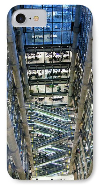 Lloyds Of London Interior IPhone Case by Mark Williamson