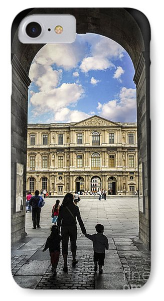 Louvre IPhone 7 Case by Elena Elisseeva