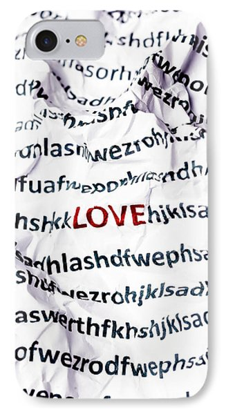 Love IPhone Case by Joana Kruse
