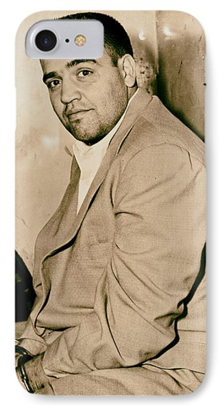 Mafioso Vincent Gigante 1956 IPhone Case by Mountain Dreams