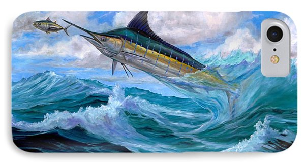 Marlin Low-flying IPhone Case by Terry  Fox