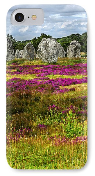 Megalithic Monuments In Brittany IPhone Case by Elena Elisseeva