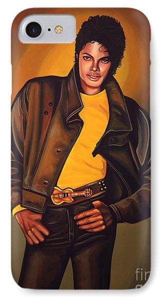 Michael Jackson IPhone 7 Case by Paul Meijering