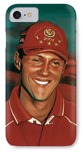Michael Schumacher Phone Case by Paul Meijering