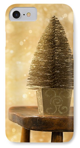 Miniature Christmas Tree Phone Case by Amanda Elwell