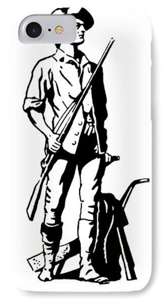 Minuteman Phone Case by Granger