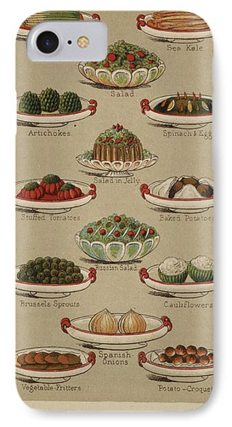 Mrs. Beeton's Family Cookery And Housekee IPhone 7 Case by British Library
