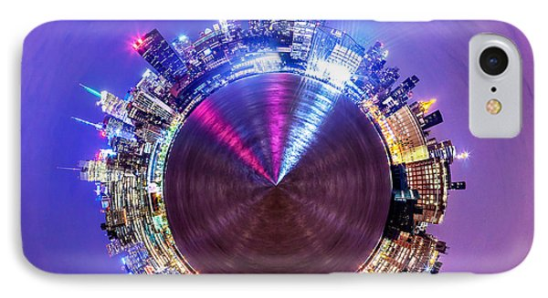 New York Skyline Circagraph IPhone Case by Az Jackson