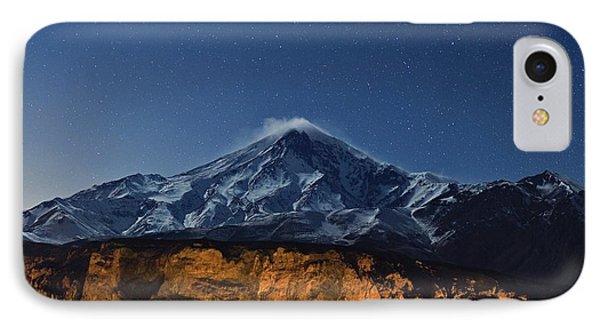 Night Sky Over Mount Damavand IPhone Case by Babak Tafreshi
