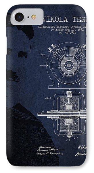 Nikola Tesla Patent From 1891 Phone Case by Aged Pixel