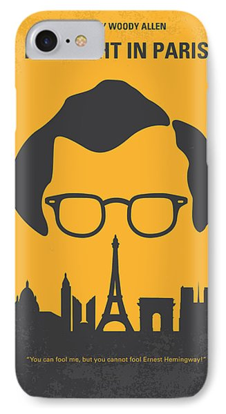 No312 My Manhattan Minimal Movie Poster IPhone Case by Chungkong Art