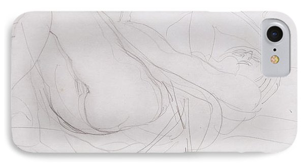 Nude IPhone Case by Auguste Rodin