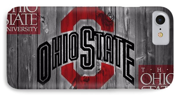 Ohio State Buckeyes IPhone 7 Case by Dan Sproul