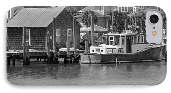 On Shem Creek Phone Case by Suzanne Gaff