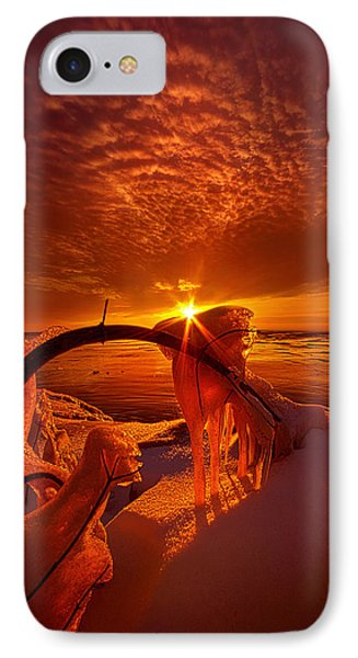 Only A Moment IPhone Case by Phil Koch