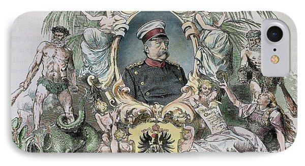Otto-leopold Bismarck, Prince IPhone Case by Prisma Archivo