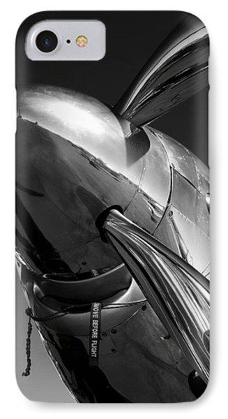 P-51 Mustang IPhone Case by John Hamlon