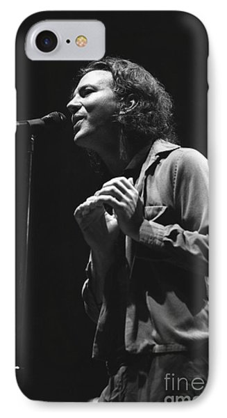 Pearl Jam IPhone Case by Concert Photos