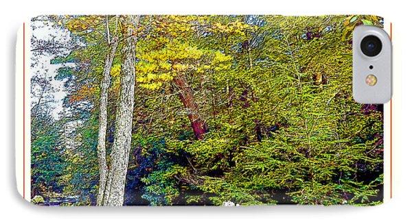 IPhone Case featuring the photograph Pennsylvania Mountain Stream In Autumn by A Gurmankin