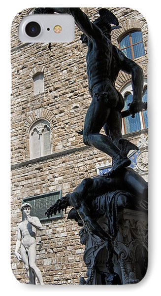 Perseus By Cellini Phone Case by Melany Sarafis
