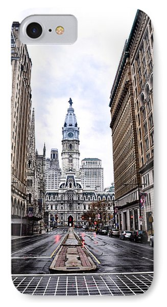 Philadelphia City Hall  Phone Case by Bill Cannon