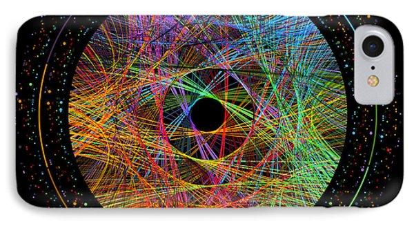 Pi Transition Paths IPhone Case by Martin Krzywinski