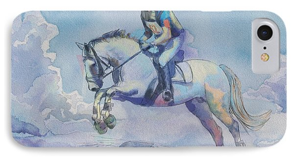 Polo Art IPhone Case by Catf