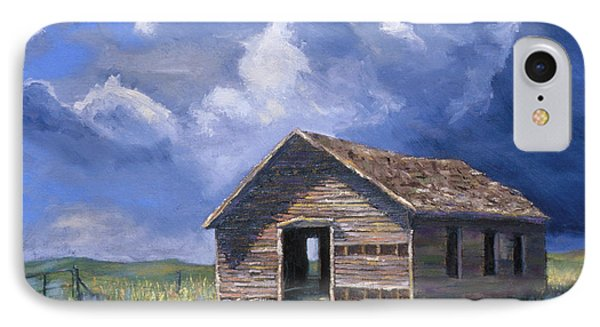 Prairie Church IPhone Case by Jerry McElroy