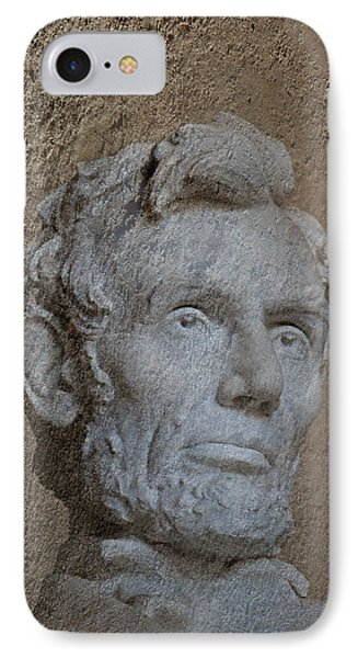 President Lincoln IPhone 7 Case by Skip Willits