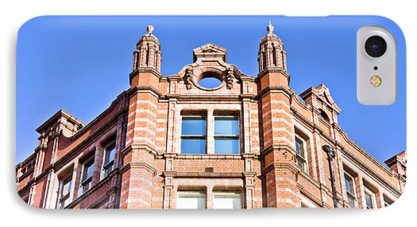 Red Brick Building IPhone Case by Tom Gowanlock