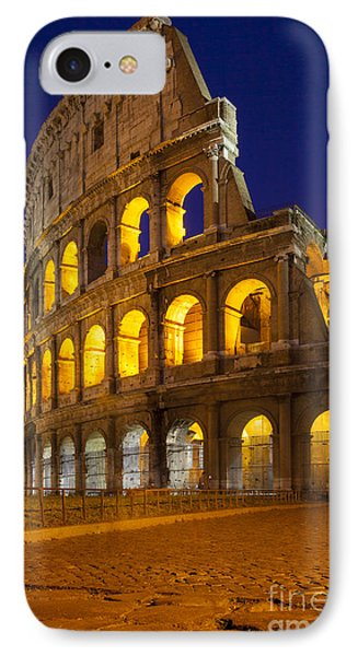 Roman Coliseum Phone Case by Brian Jannsen