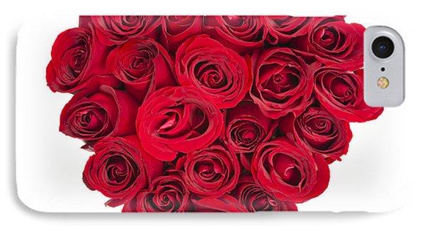 Rose Heart IPhone Case by Elena Elisseeva