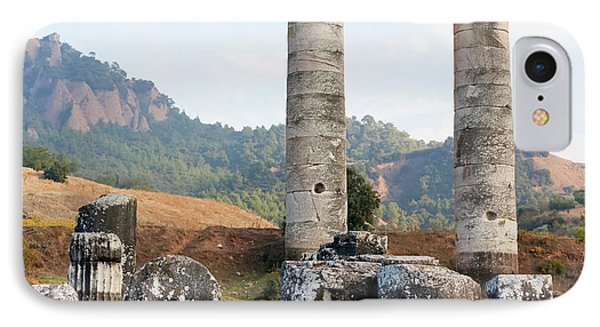 Ruins Of The Temple Of Artemis  Sardis IPhone Case by Reynold Mainse