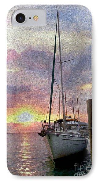 Sailboat IPhone Case by Jon Neidert