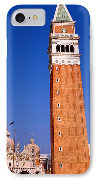 Saint Marks Square, Venice, Italy IPhone Case by Panoramic Images