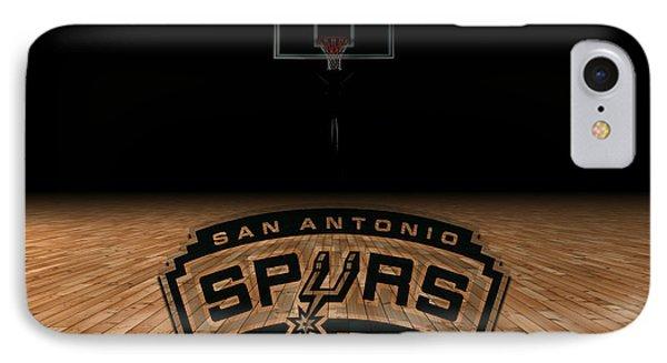 San Antonio Spurs Phone Case by Joe Hamilton