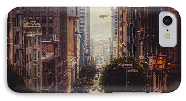 San Francisco  IPhone Case by Kenny Noddin
