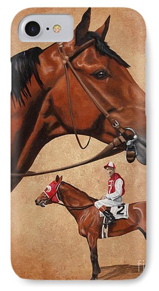 Seabiscuit IPhone Case by Pat DeLong