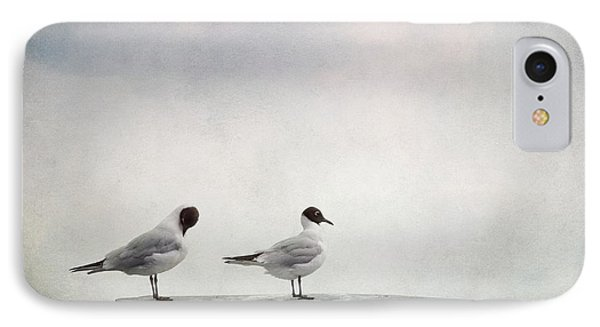 Seagulls Phone Case by Priska Wettstein