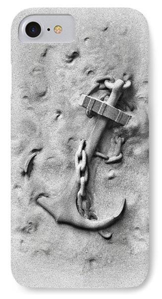 Ship's Anchor Phone Case by Tom Mc Nemar
