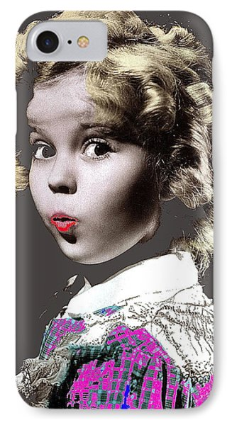 Shirley Temple Publicity Photo Circa 1935-2014 IPhone 7 Case by David Lee Guss