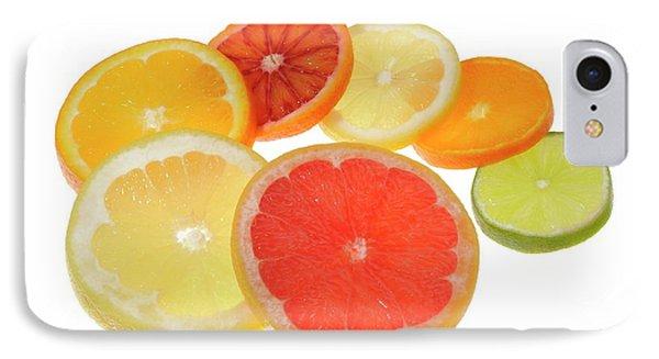 Slices Of Citrus Fruit IPhone Case by Cordelia Molloy