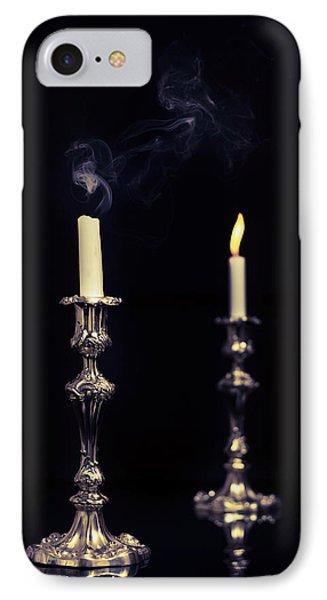 Smoking Candle Phone Case by Amanda Elwell