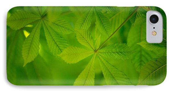 Spring Green IPhone Case by Nailia Schwarz